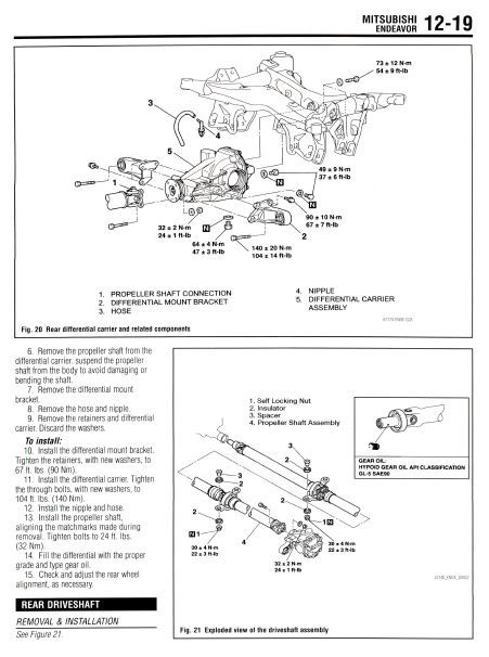 Service manual [2009 Mitsubishi Endeavor Workshop Manual