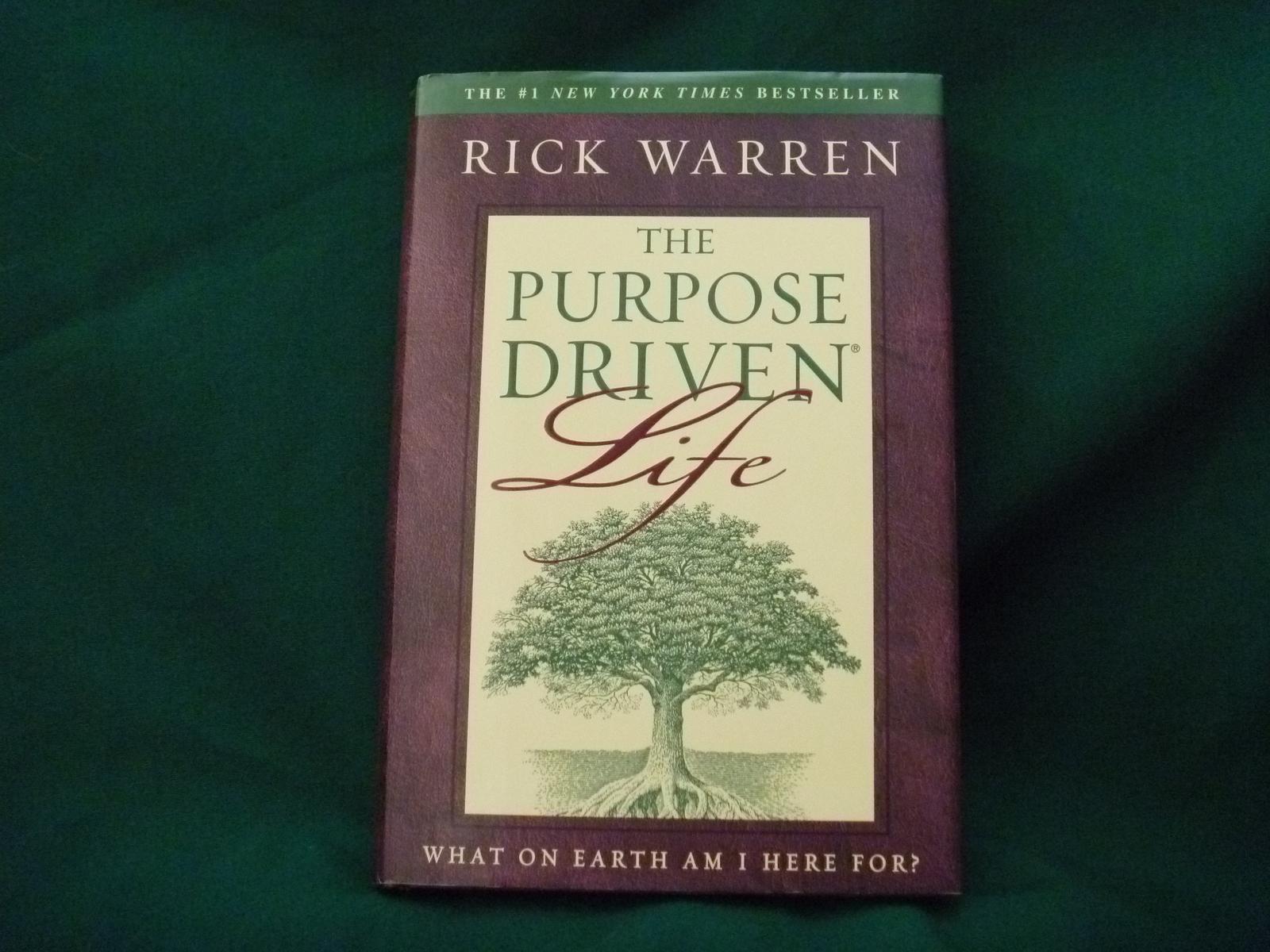 The Purpose Driven Life Rick Warren