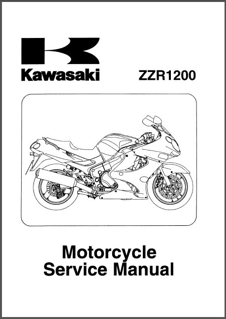 2002-2005 Kawasaki ZZR1200 Service Repair Workshop Manual