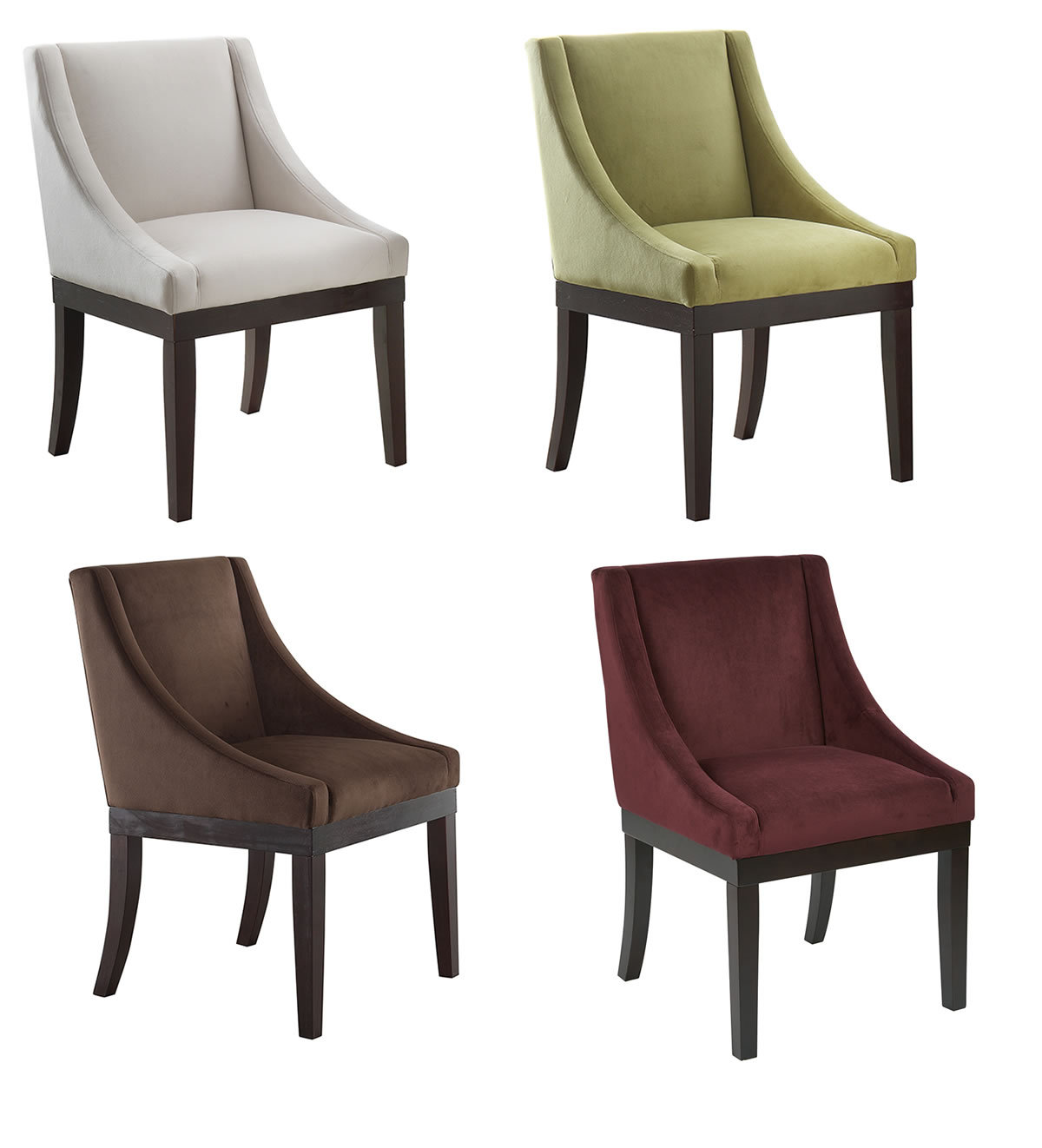 accent dining chairs rocking chair covers australia ave six monarch wingback fabric wood legs