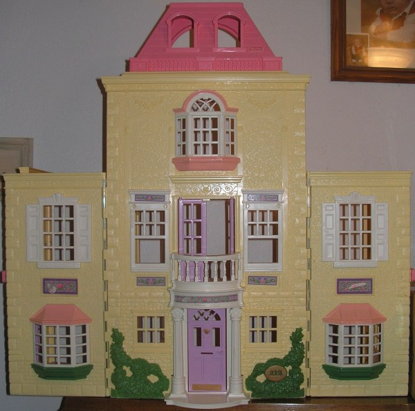 Fisher Loving Family Twin Time Doll House With