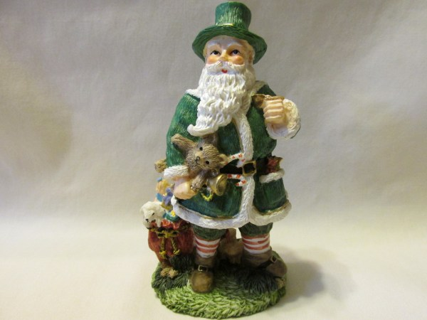 International Santa Claus Collection Irish Father