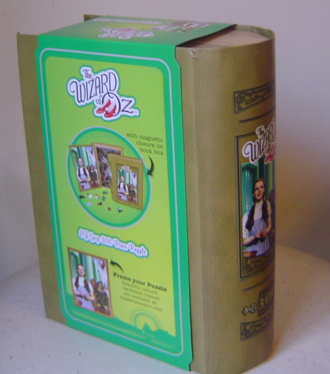 The Wizard Of Oz 300 Piece Book Jigsaw Puzzle 75th