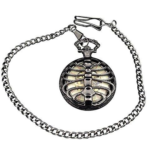 ShoppeWatch Pocket Watch Wind Up Mechanical Movement