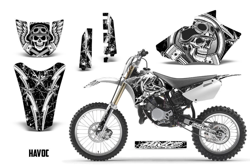 Yamaha YZ 85 Dirt Bike Graphic Sticker Kit Decal Wrap MX