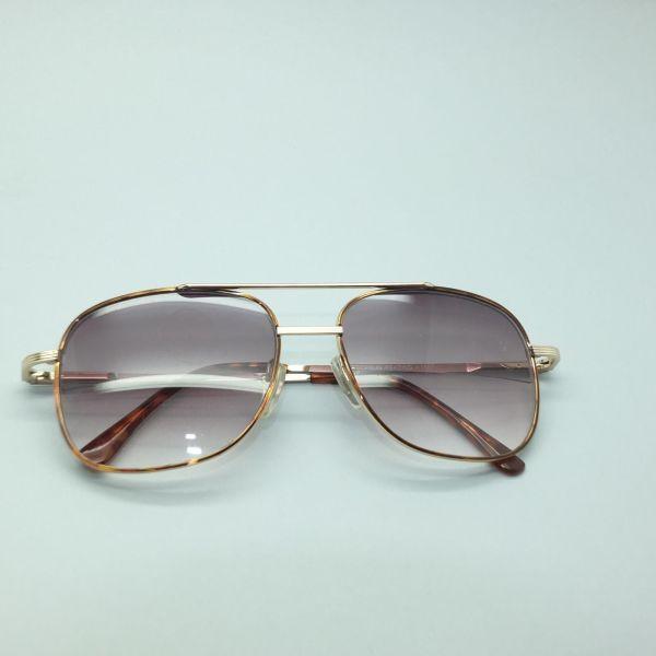 Reading Glasses Men' Sunglasses Tinted Aviator True Bifocal Gold Frame 1.25