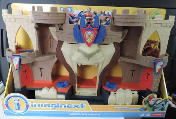 Imaginext Lion' Den Knight' Castle