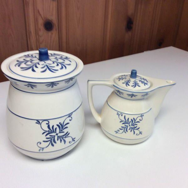 Vintage Cookie Jar Lids