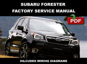 2011  2014 SUBARU FORESTER FACTORY OEM SERVICE REPAIR