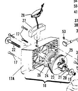 parts for pulley install Mcculloch 605 610 650 655 eager