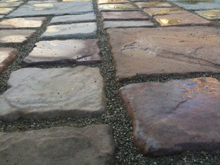 15 6x6 x1 5 concrete castlestone patio paver molds make 100s for pennies each