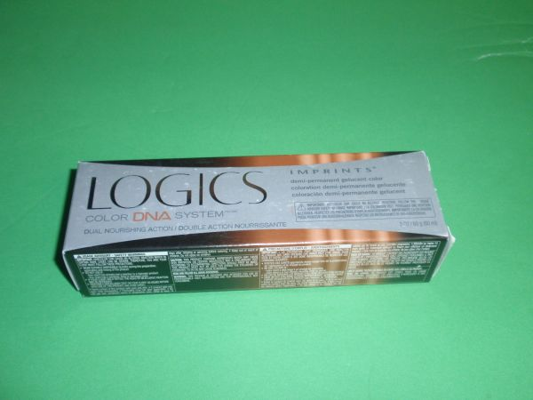 Logics Demi Permanent Hair Color 4rv Light Brown Red