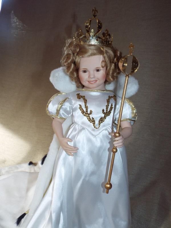Shirley Temple Little Princess Porcelain Doll; Elke