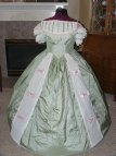 Civil War Southern Belle Ball Gown Dress