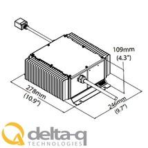 Delta Q QuiQ Golf Cart Battery Charger 48 volt 18 Amp 912
