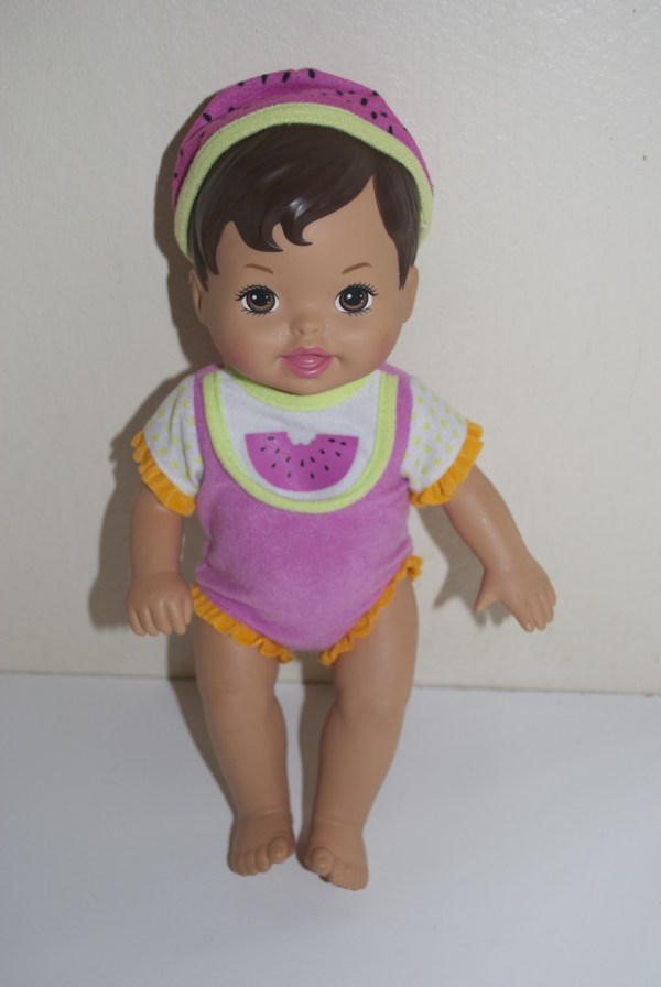 Fisher Little Mommy Sweet Eats Hispanic Doll