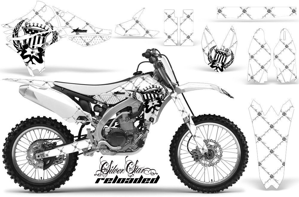 Dirt Bike Decal Graphics Kit Sticker Wrap For Yamaha