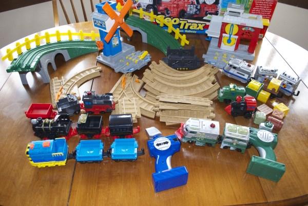 Geotrax Workin' Town Railway Fisher Train Set With