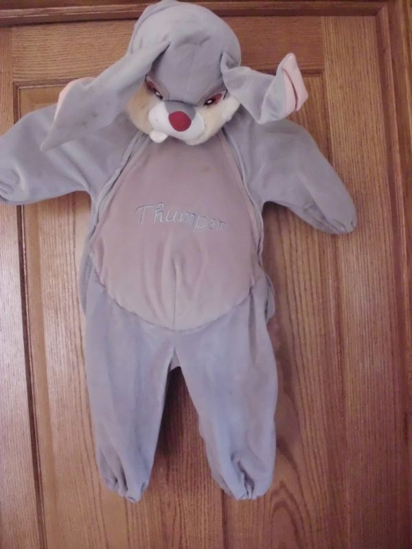 Disney Catalog Bambi Thumper Halloween Costume 12 Mo