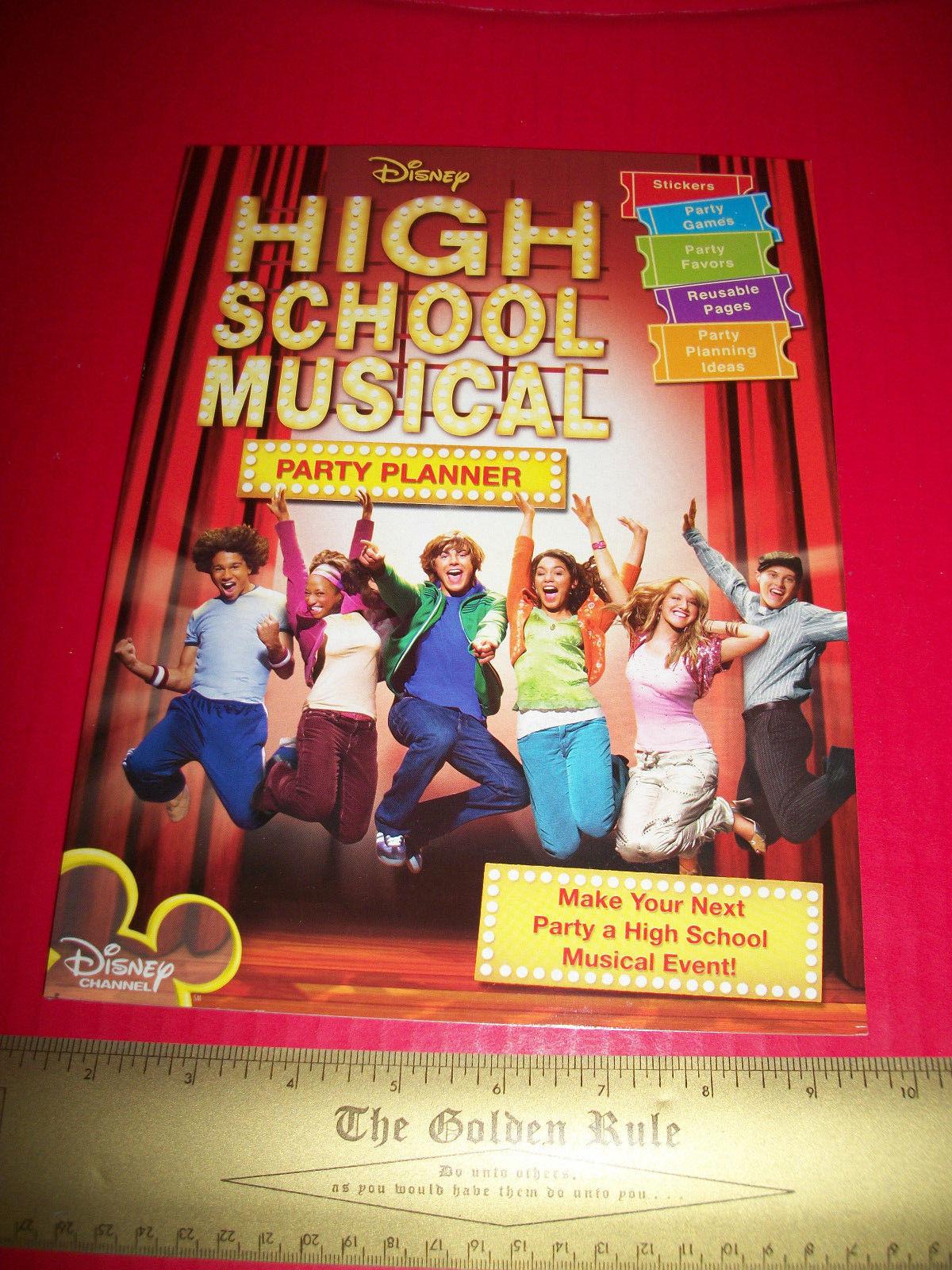 Disney Hsm Activity Booklet High School Musical Event