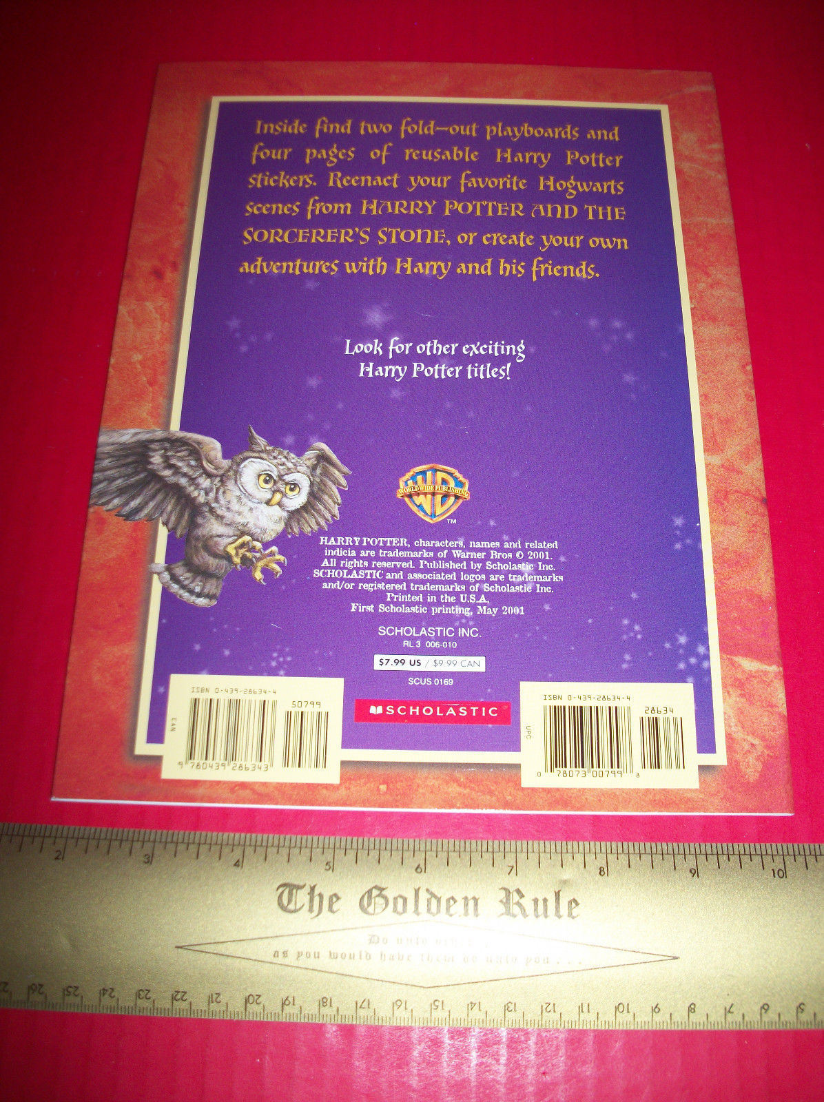 Harry Potter Craft Activity Book Mysterious Halls Of