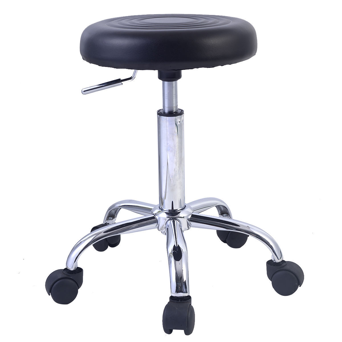 rolling stool chair red chairs hydraulic swivel adjustable tattoo facial