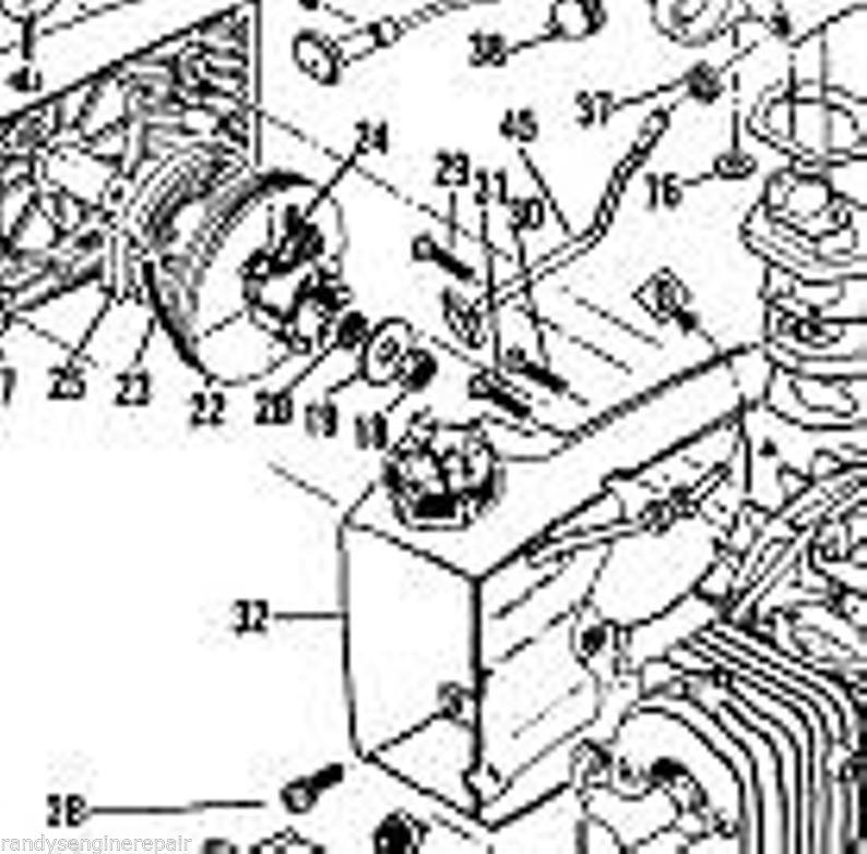 screw lot McCulloch 605, 610, 650,Timber Bear, 3.7 part