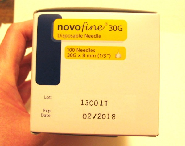 Novofine 30g X 8mm Disposable Diabetic Insulin Pen Needles