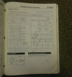 1991 mazda 929 electrical wiring diagram service manual oem 91 [ 1600 x 1200 Pixel ]