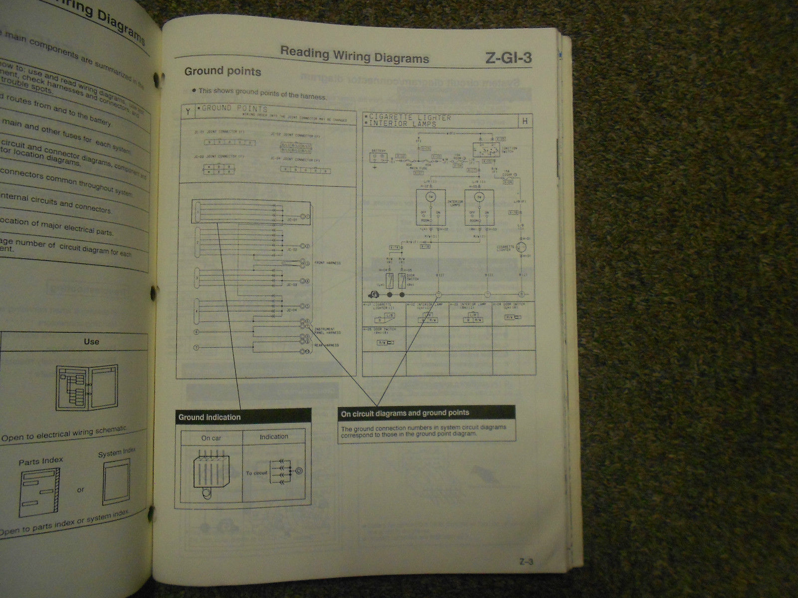 hight resolution of 1991 mazda 929 electrical wiring diagram service manual oem 91