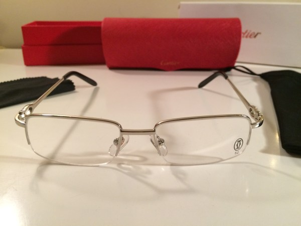 Cartier Rimless Eyeglasses Frames