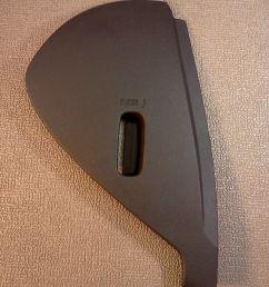buick lucerne fuse box dash cover 2006 2007 2008 2009 2010 2011 color black [ 1200 x 1600 Pixel ]
