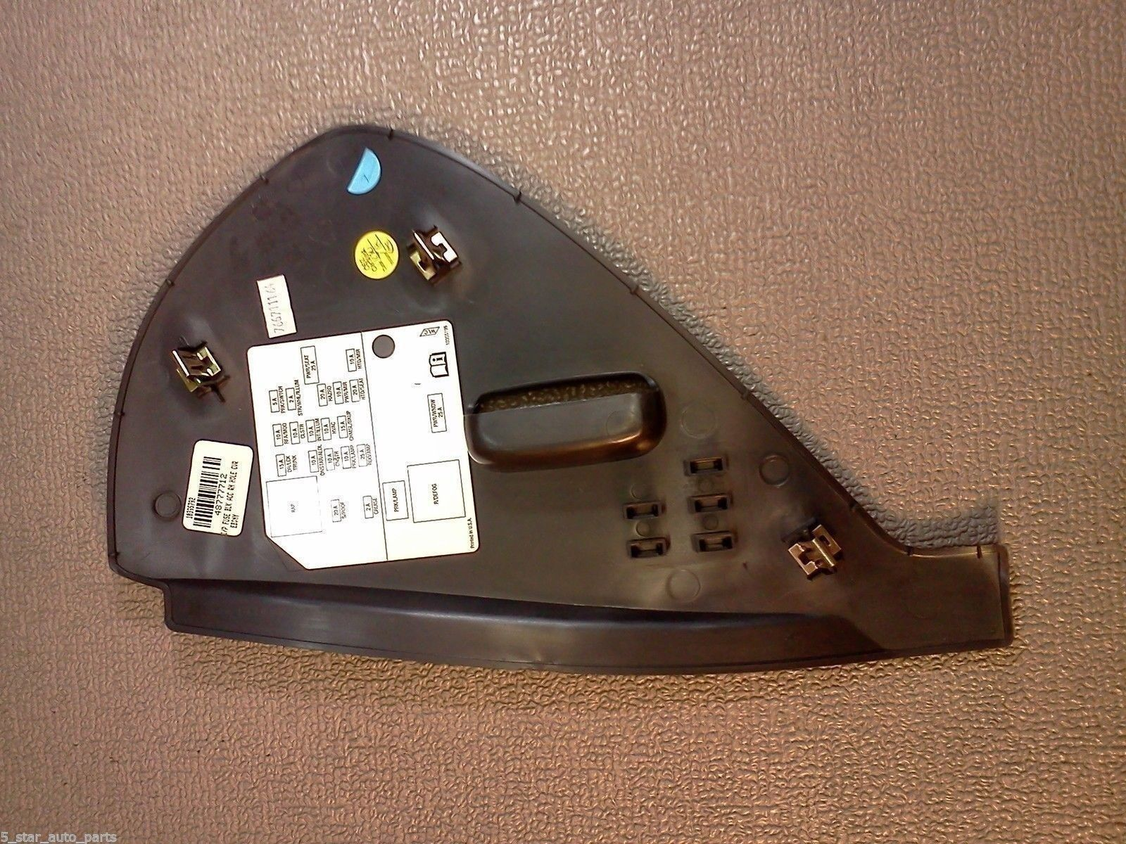 hight resolution of buick lucerne fuse box dash cover 2006 2007 2008 2009 2010 2011 color black