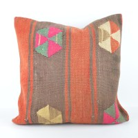 large kilim pillow 20x20' kilim cushion 50x50cm large