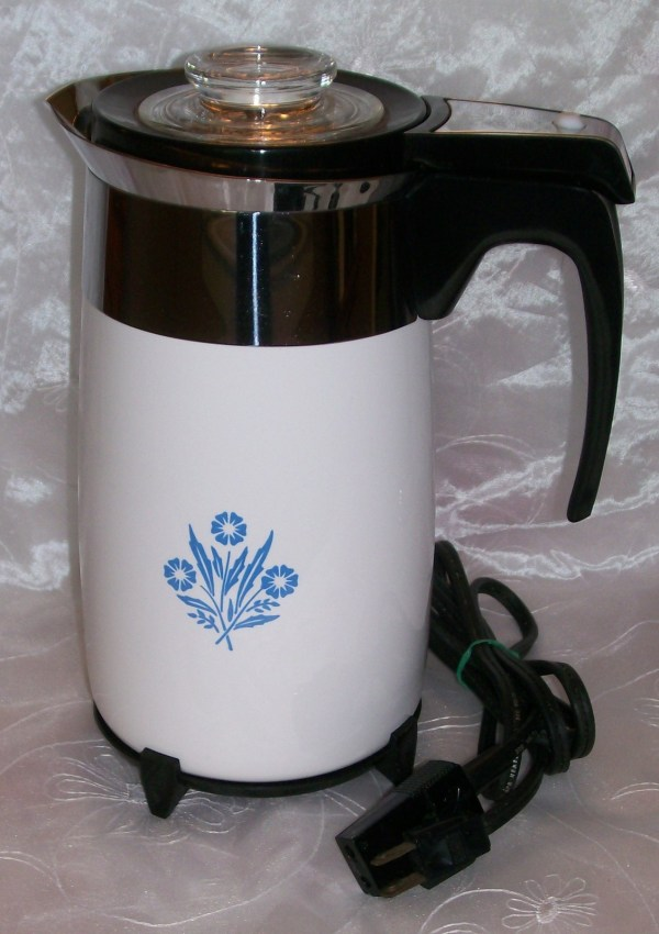 Vintage Corning Ware Electric Coffee Pot