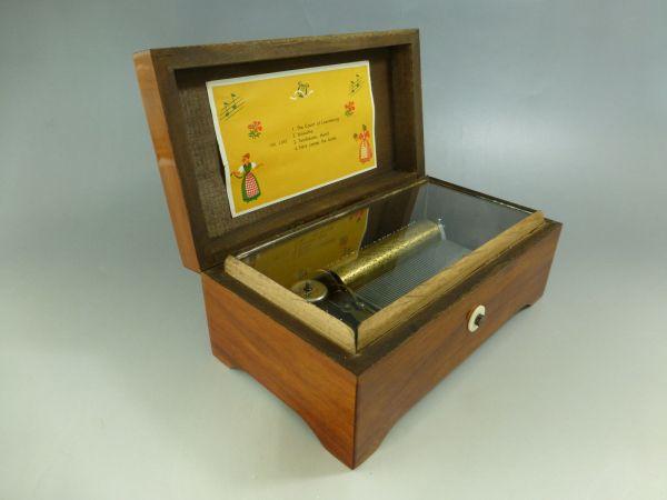 Rare Antique Swiss Pre Reuge Lador Music Box 4 Songs