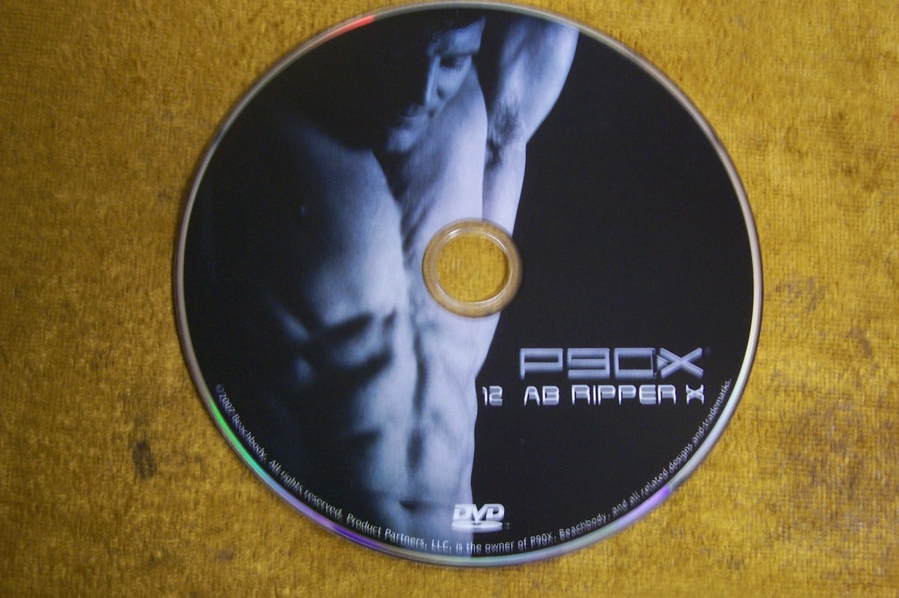 Used P90x Disk 12 Ab Ripper X Replacement
