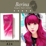 berina a24 magic hair cream magenta
