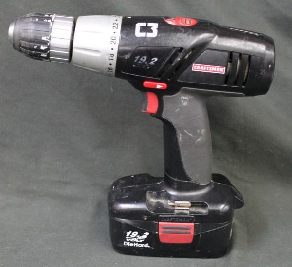 """Craftsman 1/2"""" 19.2 V Drill/Driver 315.114853 CS1128 ..."""