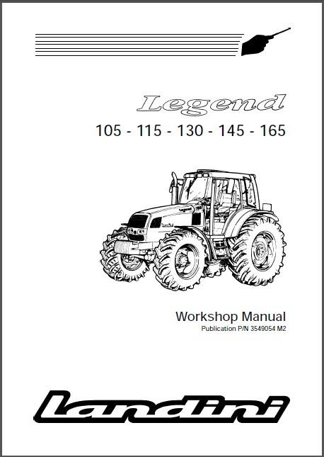 Landini Legend 105 115 130 145 165 Tractor and 50 similar