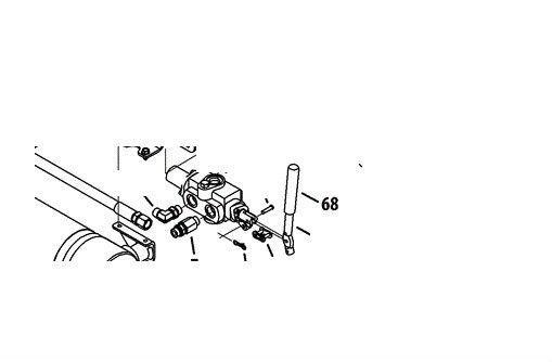 MTD Bolens Troy Bilt Log Splitter Hand Control Valve Lever