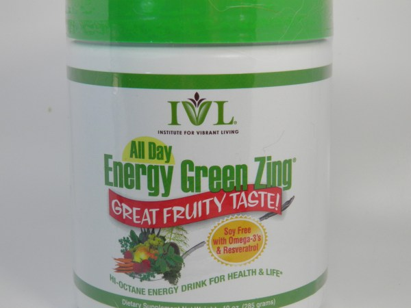 Ivl Institute Vibrant Living Soy-free Day Energy Green Zing 40 - Bars