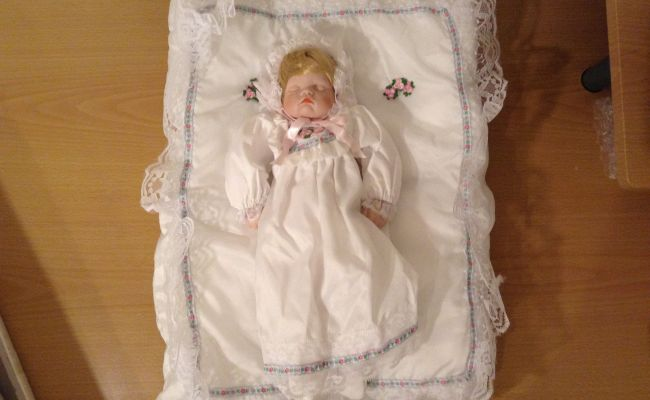 Vintage Hello Dolly Collectible Doll Megan Signature
