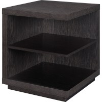 Living room bedroom end table or side tables with storage ...
