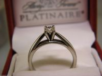 Always & Forever Platinaire 1/3 Carat Round Solitaire ...