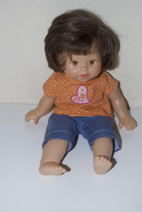Fisher Little Mommy Doll Brunette Hair 2001 2008