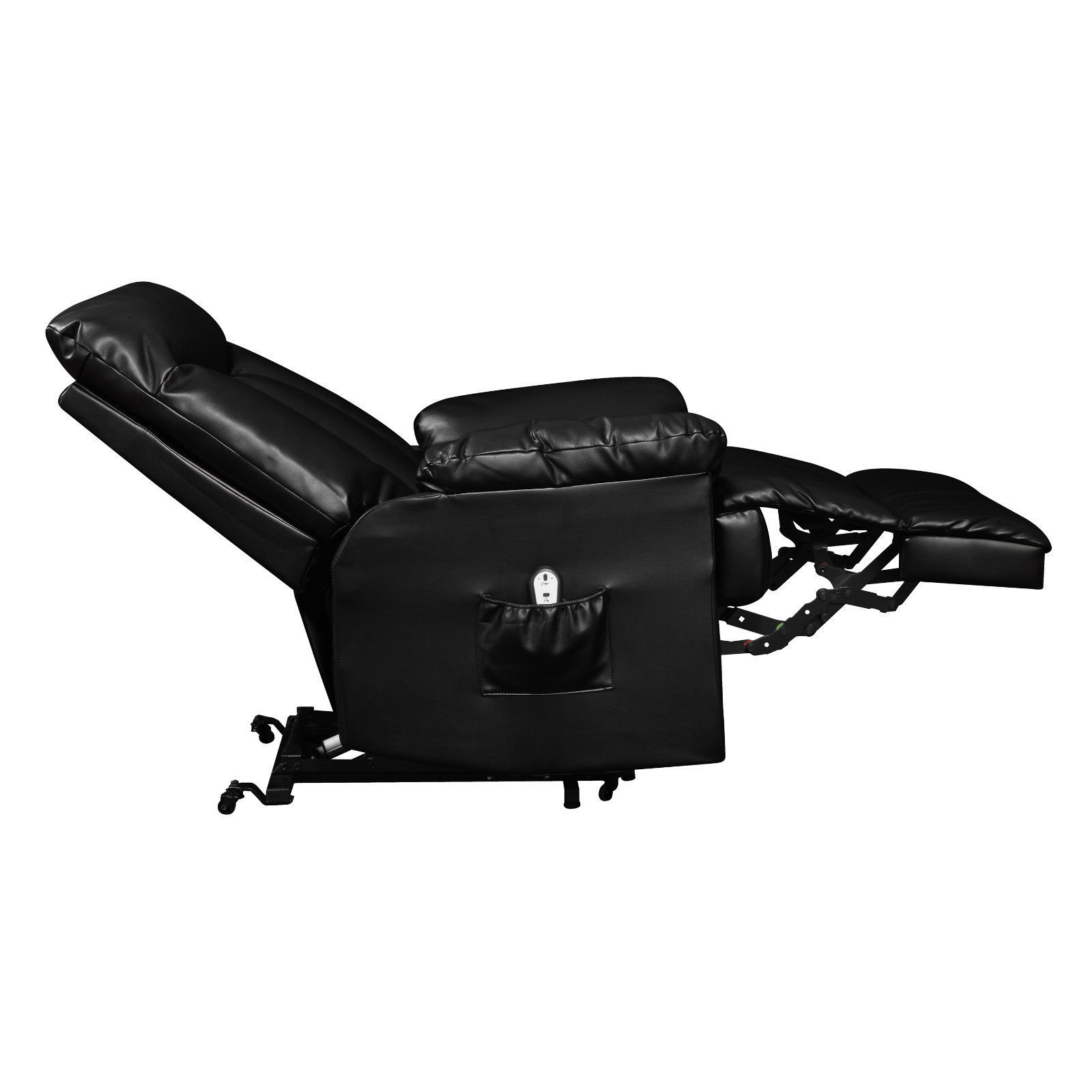 Electric Lift Chair Electric Lift Chair Recliner Black Leather Power Motion