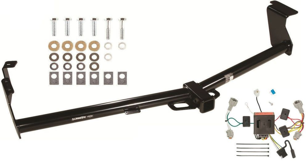 medium resolution of trailer hitch w wiring kit for 2011 2016 nissan quest draw tite class iii new 251 41