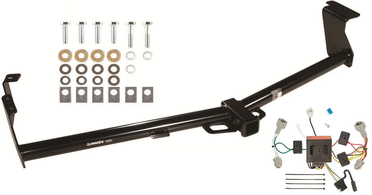 hight resolution of trailer hitch w wiring kit for 2011 2016 nissan quest draw tite class iii new 251 41