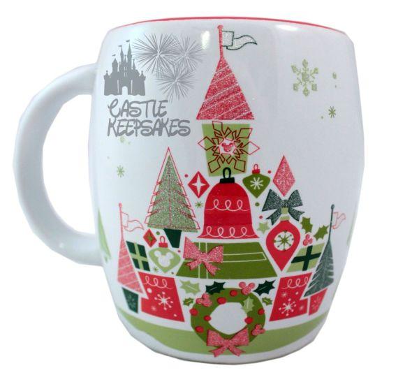Disney Parks Starbucks Christmas Tree Cinderella Castle
